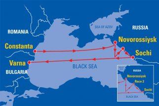 SCF Black Sea Tall Ships Regatta 2016 Map