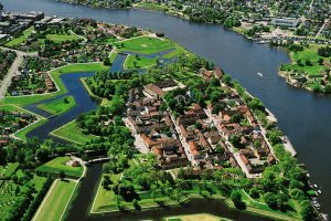 Fredrikstad from the air