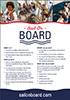 Sail On Board Leaflet