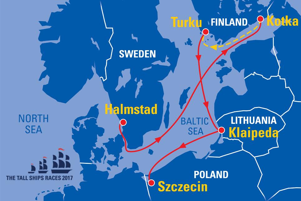 Halmstad Sweden Sail On Board
