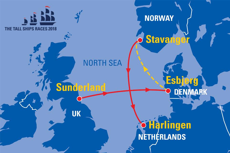 Sunderland UK Sail On Board