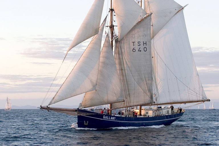 De Gallant tall ship.