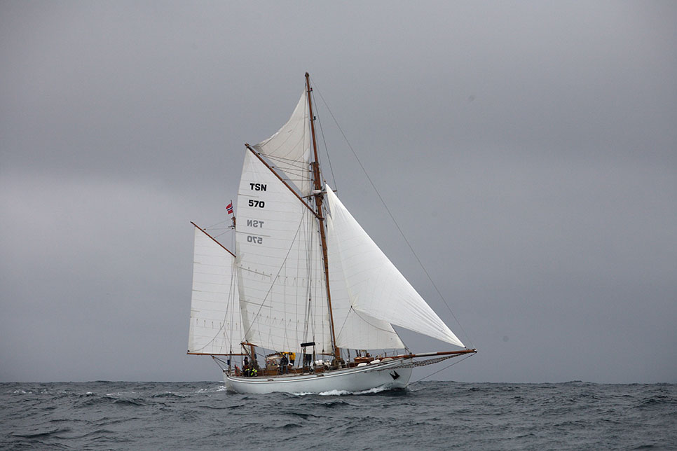 Wyvern Av Alesund tall ship