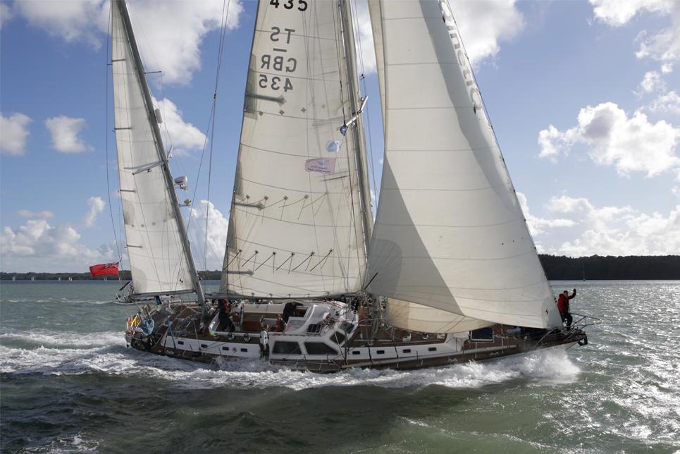 RONA II - Sail On Board