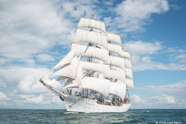 the Tall ships races 2016 race one Christian Radich