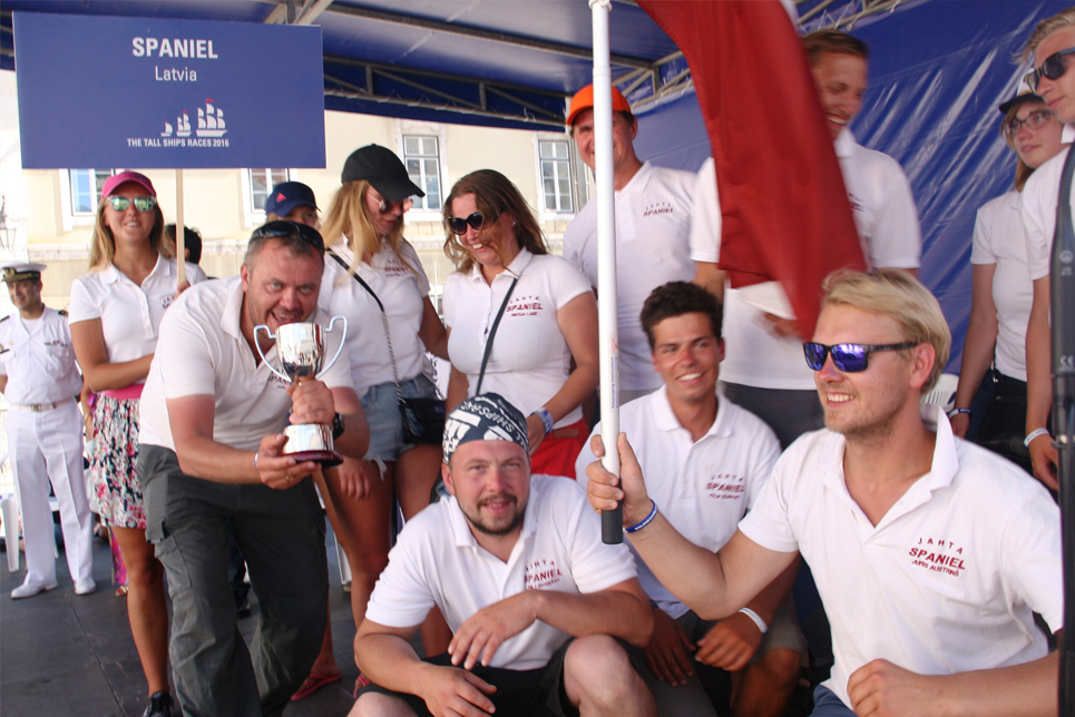 The crew of Spaniel, Tall Ships Races 2016