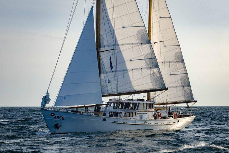 Zenobe Gramme yacht sailing