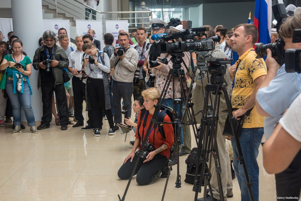 Media interest in the Opening Ceremony