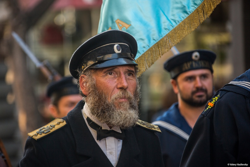 Crew Parade in Varna