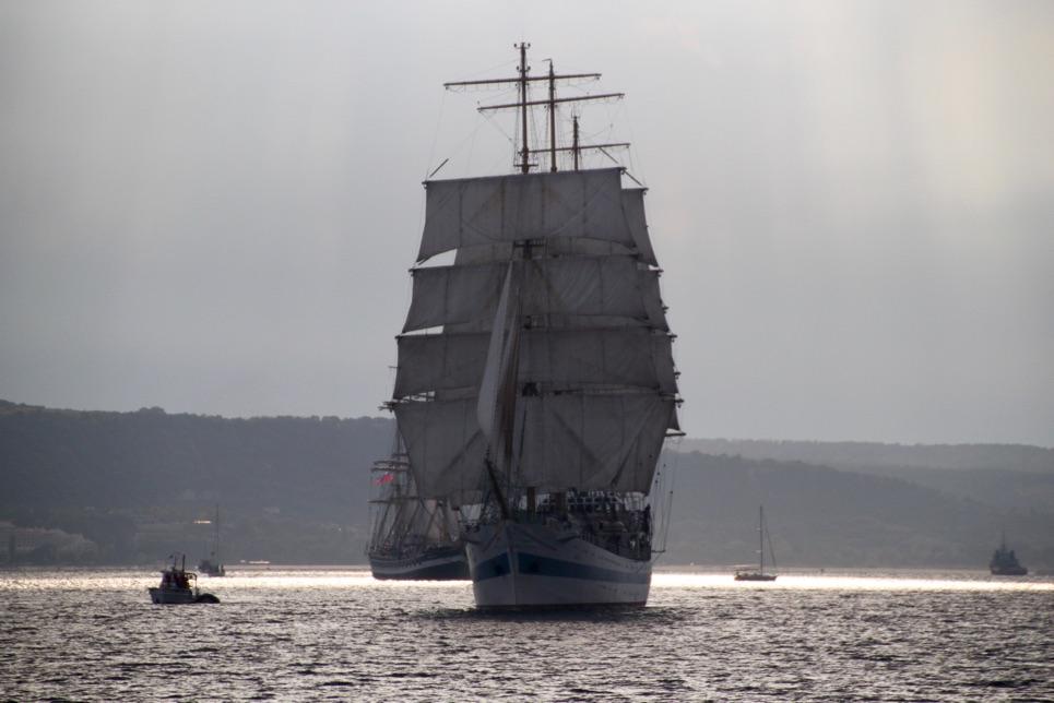 Parade of Sail in Varna, SCF Black Sea Tall Ships Regatta 2016