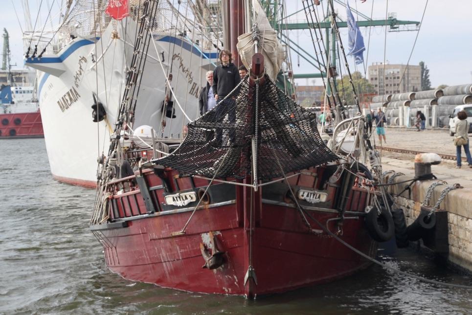 Parade of Sail in Varna, SCF Black Sea Tall Ships Regatta 2016.