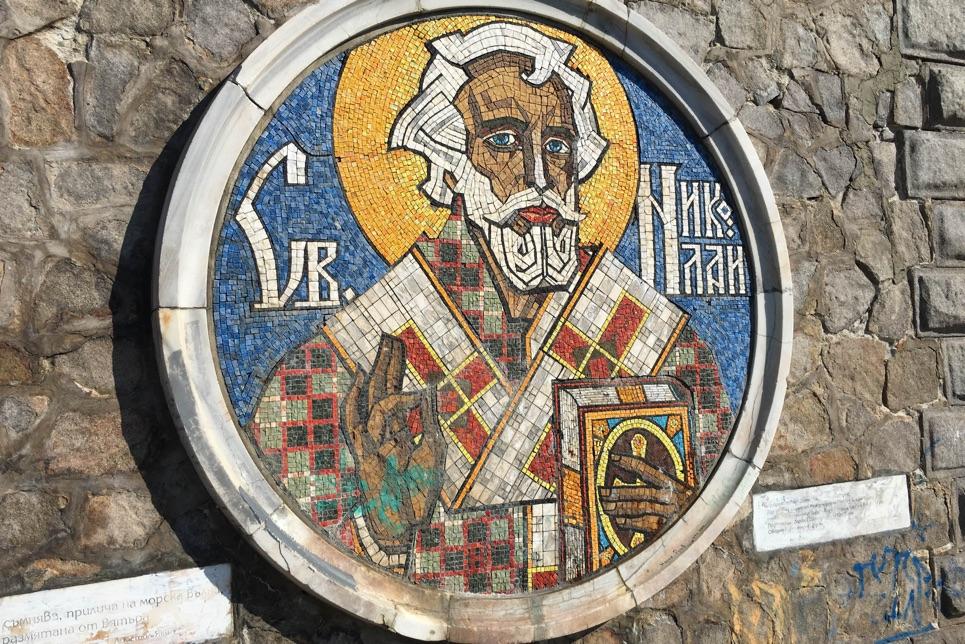 St Nicholas, patron saint of Seamen