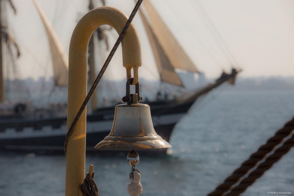 Race 1 of the SCF Black Sea Tall Ships Regatta 2016. Image by Valery Vasilevsky
