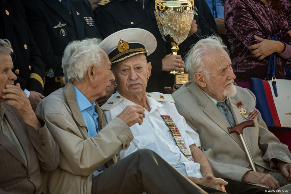 Veterans at the Prize Giving Ceremony