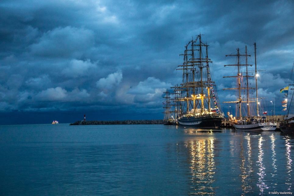 The fleet in Sochi