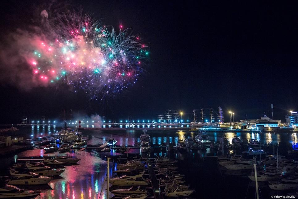 Fireworks in Sochi