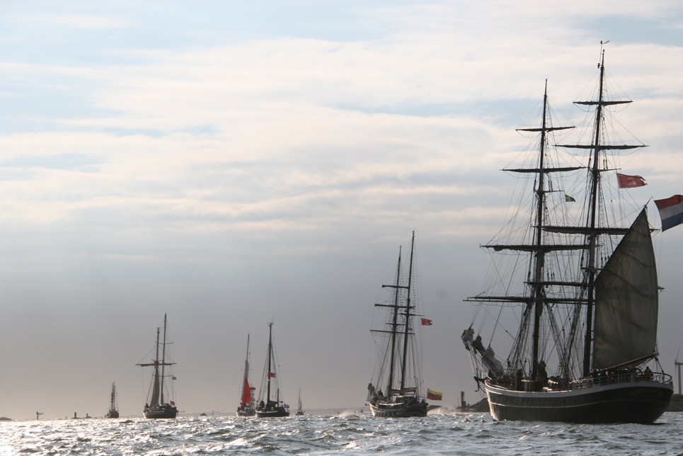 The fleet in the Parade of Sail, Gothenburg
