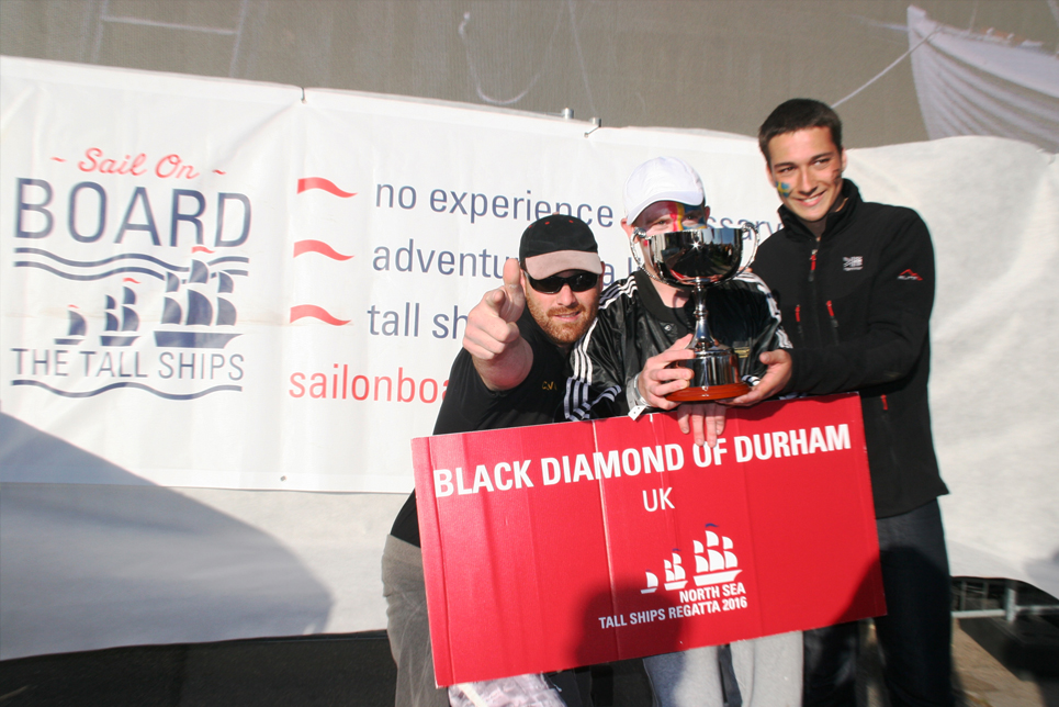Black Diamond of Durham at the Prize Giving Ceremony