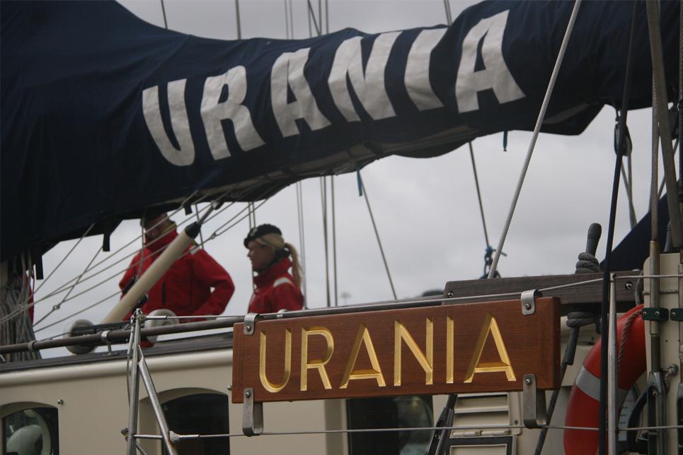 On board Urania