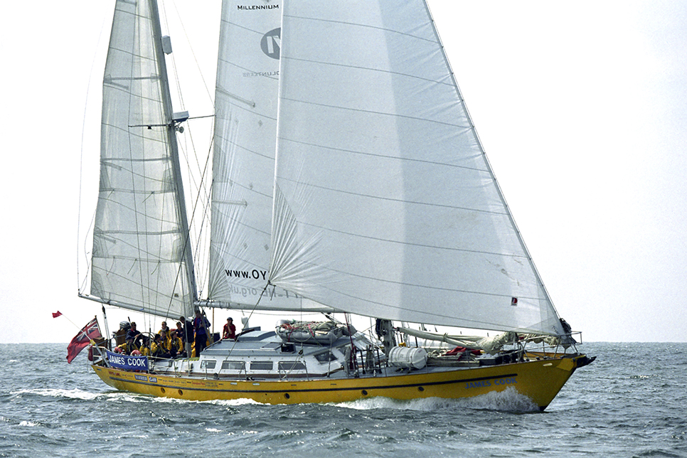 sail training vessel james cook (image courtesy of Max Mudie/ASTO).