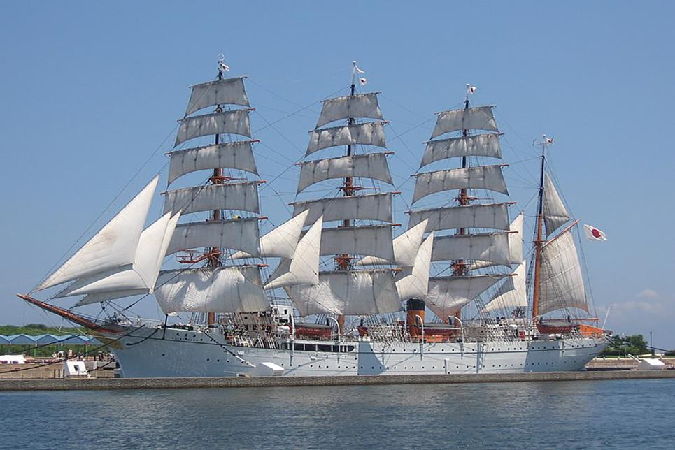 tall ship Kaiwo Maru