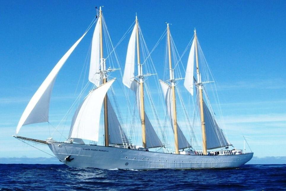 santa maria manuela sail on board