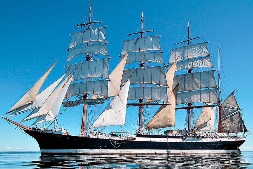 tall ship sedov