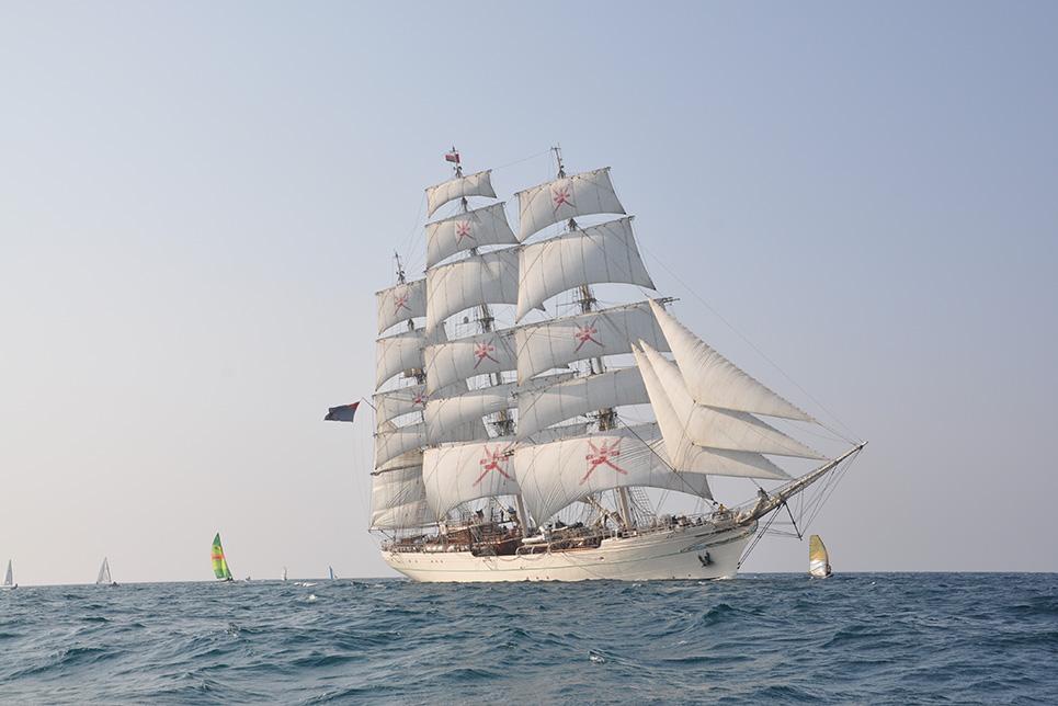 Tall Ships Races Sail Training Ship Shabab Oman II