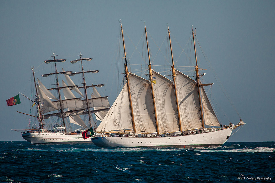 Blue Clipper Sagres Tall Ships Lisbon