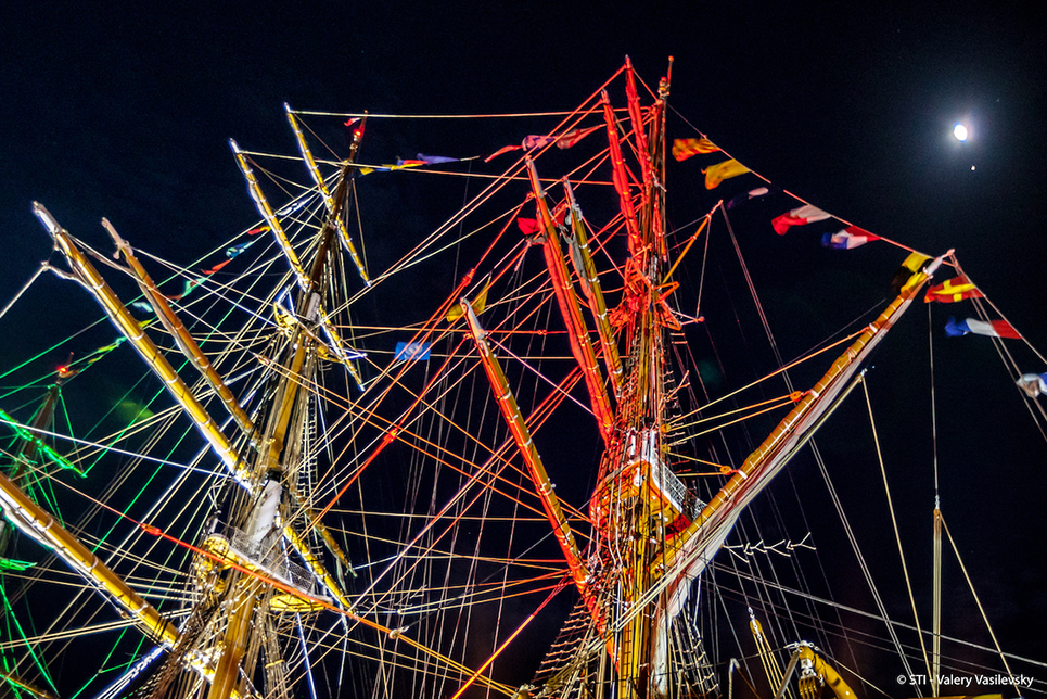 bermuda tall ships masts