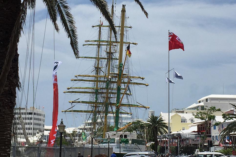 Amerigo Vespucci Bermuda