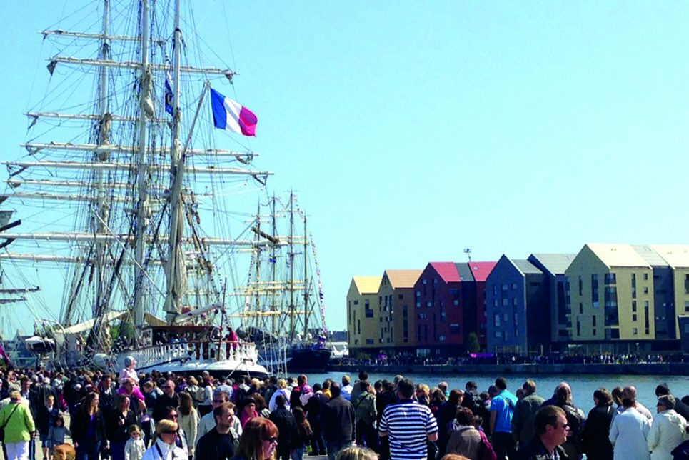 tall ships in dunkirk