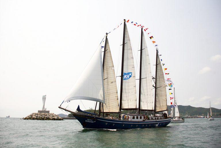 tall ship koreana