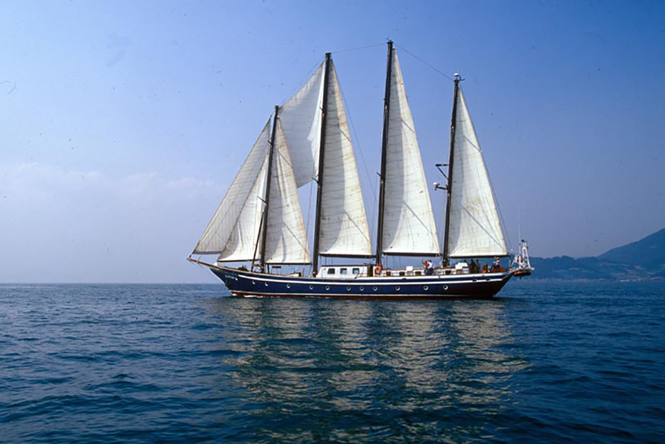 tall ship koreana
