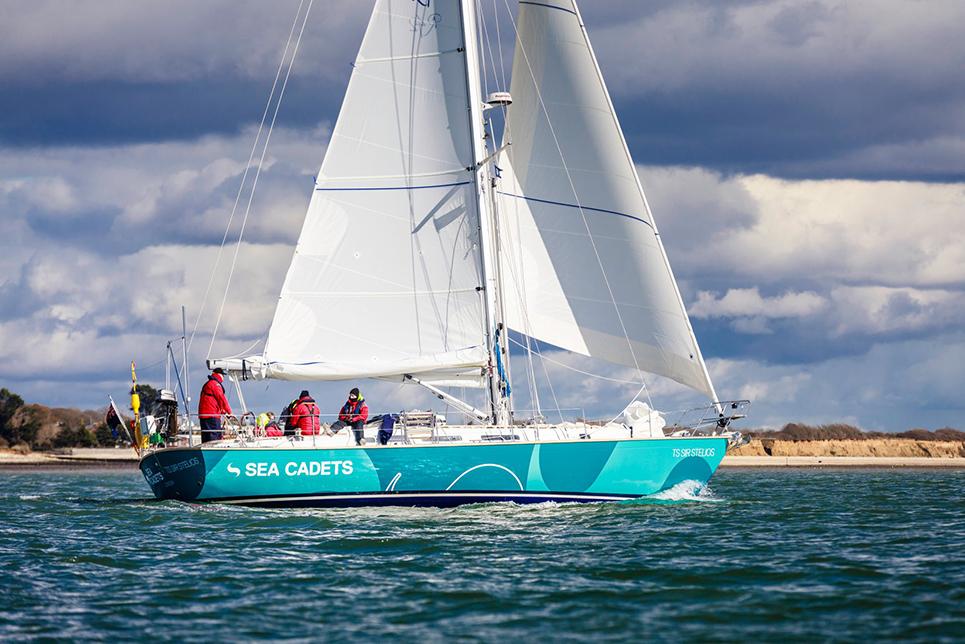 sea cadets sailing vessel Sir Stelios (UK)