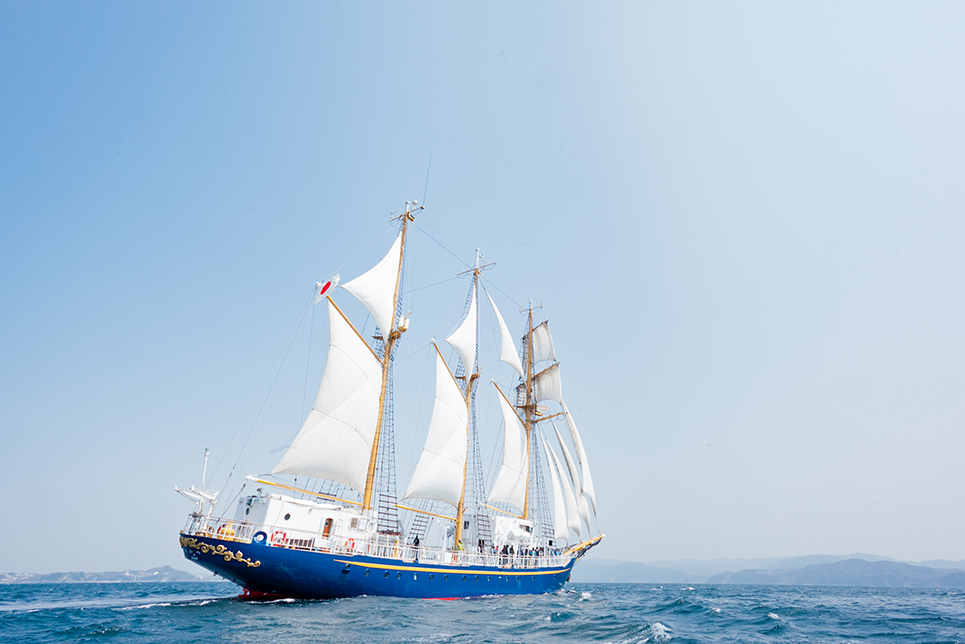 tall ship miraie