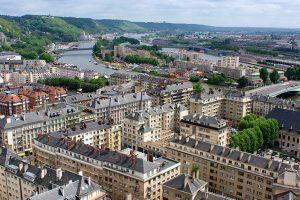 Rouen, France.