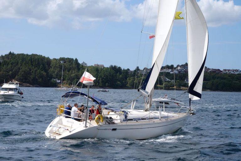 sail training yacht belfer from poland