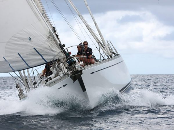 Vahine was the first vessel to win the famous Whitbread Round the World Race.