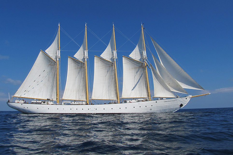 tall ship santa maria manuela