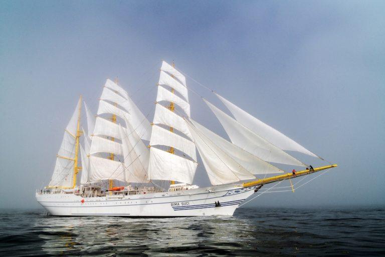 tall ship Bima Suci (Indonesia)