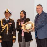 Sultan Qaboos Trophy: Skonnerten Jylland collected by Capt. Niels Kristensen.