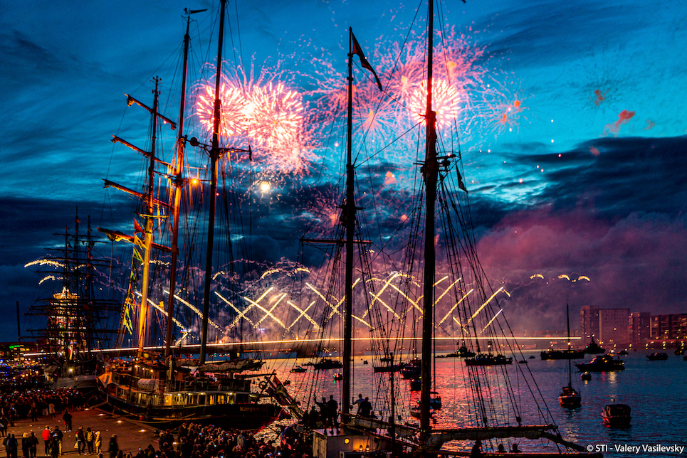 denmark largest fireworks display aalborg