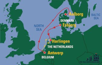 the tall ships races 2022 route map