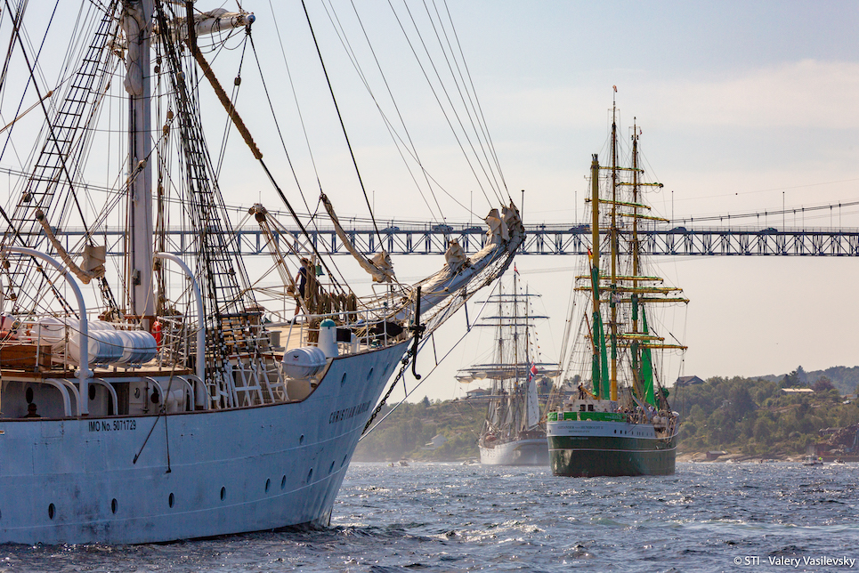 Tall Ships Races 2019 Bergen Parade of Sail
