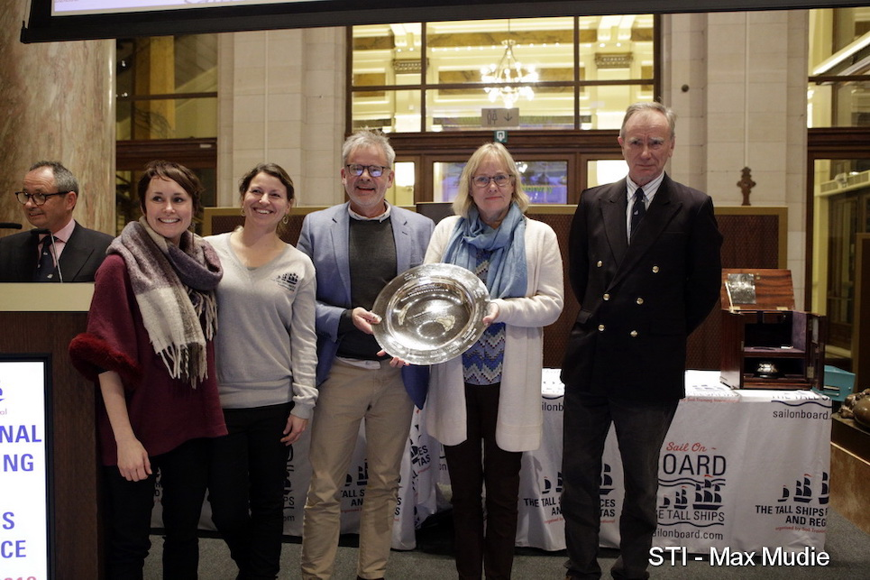international sail training and tall ships conference 2019 annual awards host port trophy winner fredrikstad