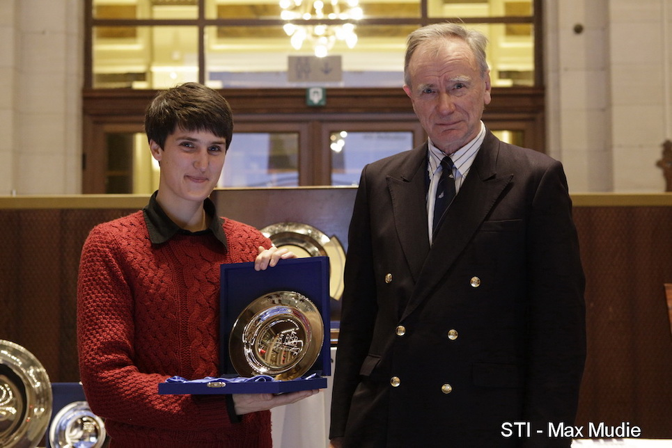 international sail training and tall ships conference 2019 annual awards featured image sail trainer of the year volunteer winner noelle henrotay