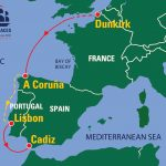 THE TALL SHIPS RACES MEGALLAN ELCANO 500 SERIES 2021 route map